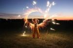 Feuershow aus Berlin mit Fire Vision