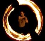 Feuershow aus Halle - Wildfire