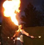 Feuershow aus Potsdam - Rick on Fire