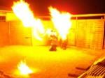 Feuershow mit Feuertänzer aus Rheinland-Pfalz