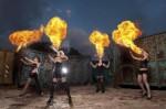 Feuershow aus Stuttgart mit T.N.T Dolls