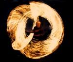 Feuershow aus Augsburg - Feuer Spiel