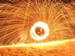 Feuershow aus Koblenz - Feuermädchen