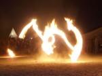 Feuershow aus München - Hearts on Fire